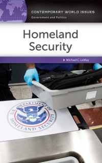 Cover Homeland Security: A Reference Handbook