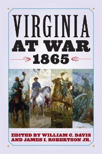 Cover Virginia at War, 1865