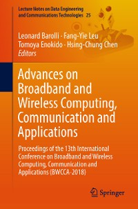 Cover Advances on Broadband and Wireless Computing, Communication and Applications