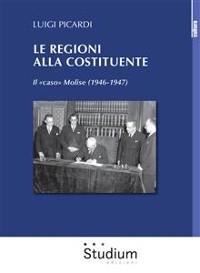 Cover Le Regioni alla Costituente