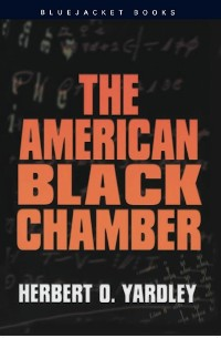 Cover The American Black Chamber