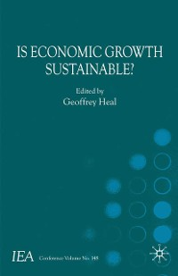 Cover Is Economic Growth Sustainable?