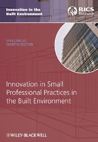 Cover Innovation in Small Professional Practices in the Built Environment