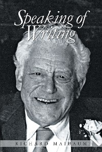Cover Speaking Of Writing