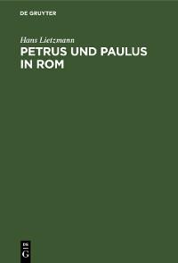Cover Petrus und Paulus in Rom