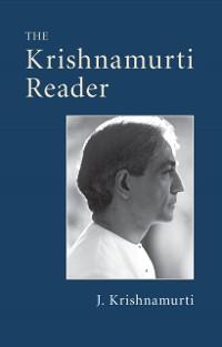 Cover Krishnamurti Reader