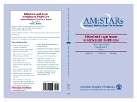 Cover AM:STARs Ethical and Legal Issues in Adolescent Health Care