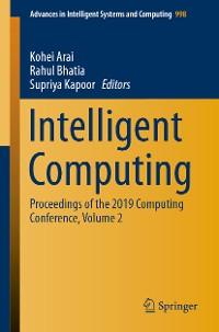 Cover Intelligent Computing