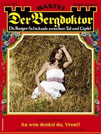 Cover Der Bergdoktor 2071 - Heimatroman