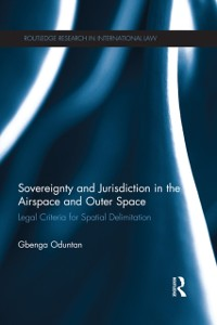 Cover Sovereignty and Jurisdiction in Airspace and Outer Space
