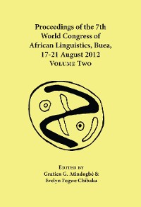 Cover Proceedings of the 7th World Congress of African Linguistics, Buea, 17-21 August 2012