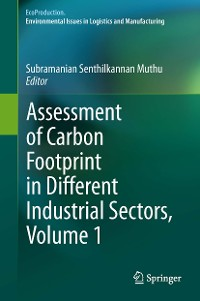 Cover Assessment of Carbon Footprint in Different Industrial Sectors, Volume 1