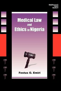 Cover Medical Law and Ethics in Nigeria