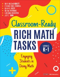 Cover Classroom-Ready Rich Math Tasks, Grades K-1