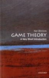 Cover Game Theory: A Very Short Introduction