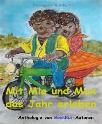 Cover Mit Mia  und Max das Jahr erleben
