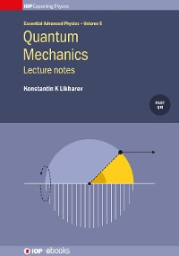 Cover Quantum Mechanics: Lecture notes