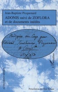 Cover Adonis suivi de zoflora et documents ine