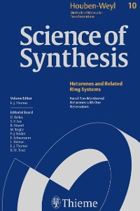 Cover Science of Synthesis: Houben-Weyl Methods of Molecular Transformations  Vol. 10