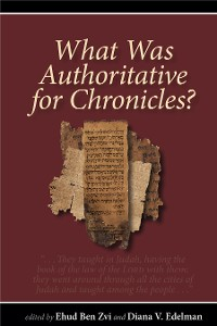 Cover What Was Authoritative for Chronicles?