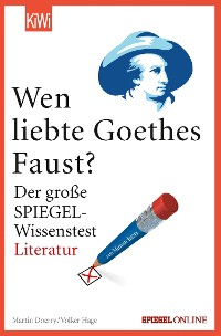 """Cover Wen liebte Goethes """"Faust""""?"""