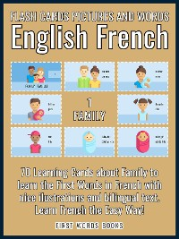 Cover 1 - Family - Flash Cards Pictures and Words English French