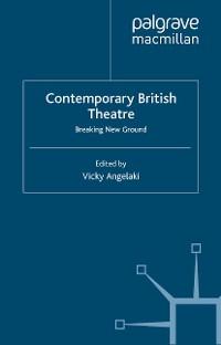 Cover Contemporary British Theatre