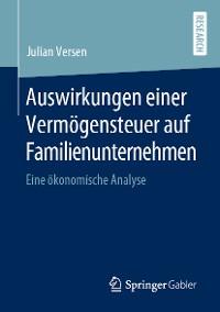 Cover Auswirkungen einer Vermögensteuer auf Familienunternehmen