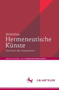 Cover Hermeneutische Künste
