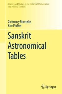Cover Sanskrit Astronomical Tables