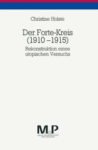 Cover Der Forte-Kreis 1910-1915