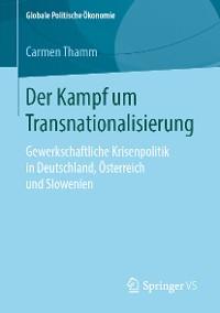 Cover Der Kampf um Transnationalisierung