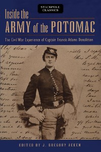 Cover Inside the Army of the Potomac