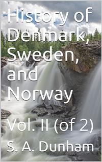 Cover History of Denmark, Sweden, and Norway, Vol. II (of 2)