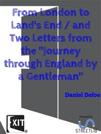 """Cover From London to Land's End / and Two Letters from the """"Journey through England by a Gentleman"""""""