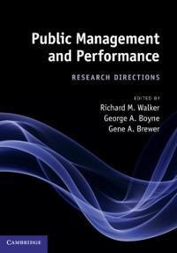 Cover Public Management and Performance