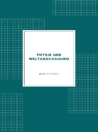 Cover Physik und Weltanschauung