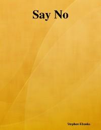 Cover Say No