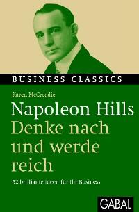 """Cover Napoleon Hills """"Denke nach und werde reich"""""""