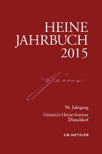 Cover Heine-Jahrbuch 2015