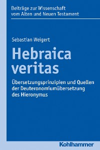 Cover Hebraica veritas