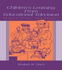 Cover Children's Learning From Educational Television