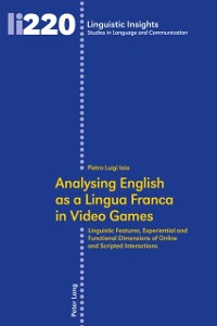 Cover Analysing English as a Lingua Franca in Video Games