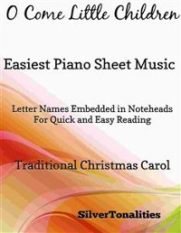 Cover O Come Little Children Easiest Piano Sheet Music