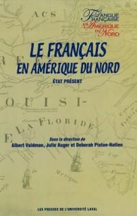 Cover Francais en Amerique du Nord Le