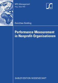 Cover Performance Measurement in Nonprofit-Organisationen