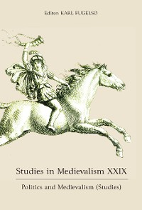 Cover Studies in Medievalism XXIX