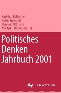 Cover Politisches Denken. Jahrbuch 2001
