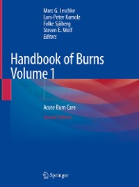 Cover Handbook of Burns Volume 1