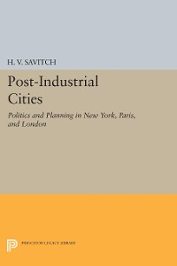 Cover Post-Industrial Cities